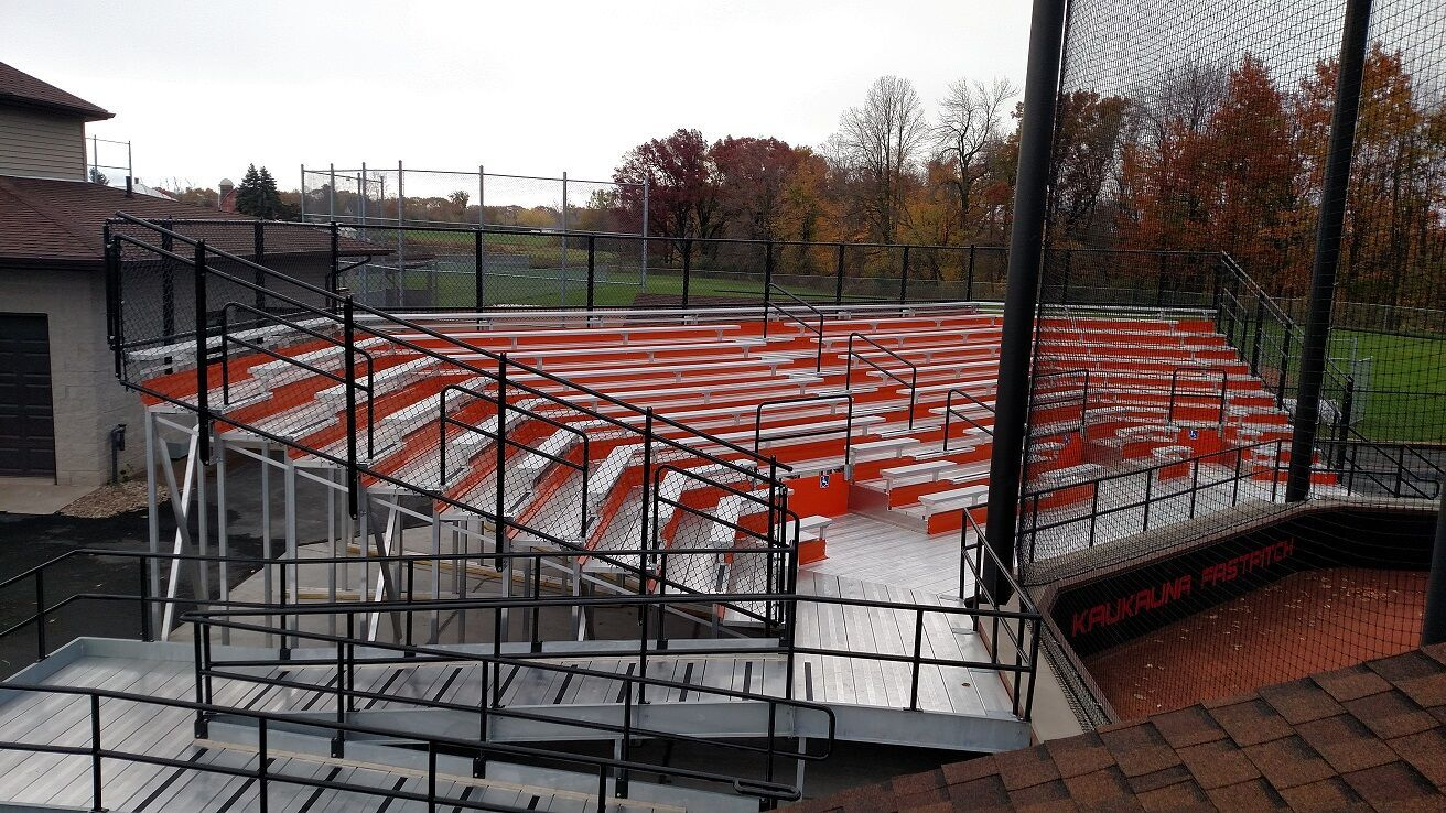Outdoor Stadium Bleachers