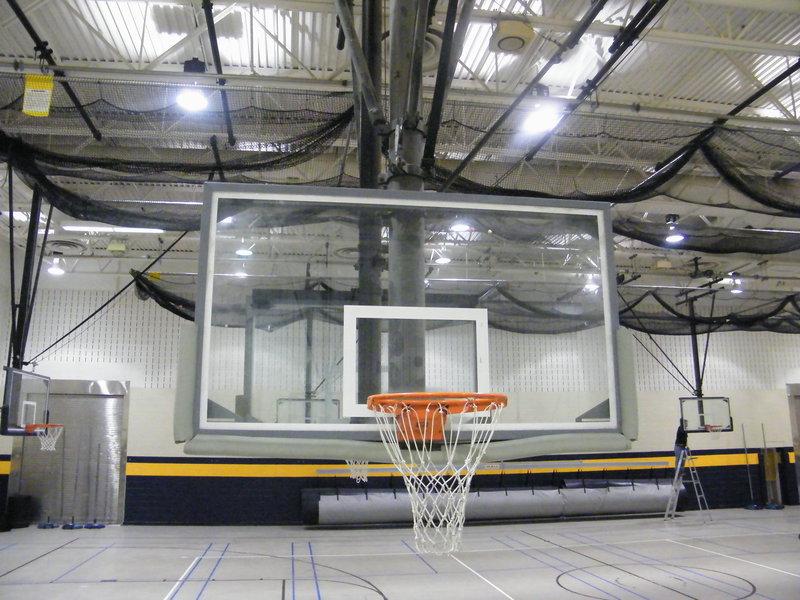 Basketball Backstop Repair