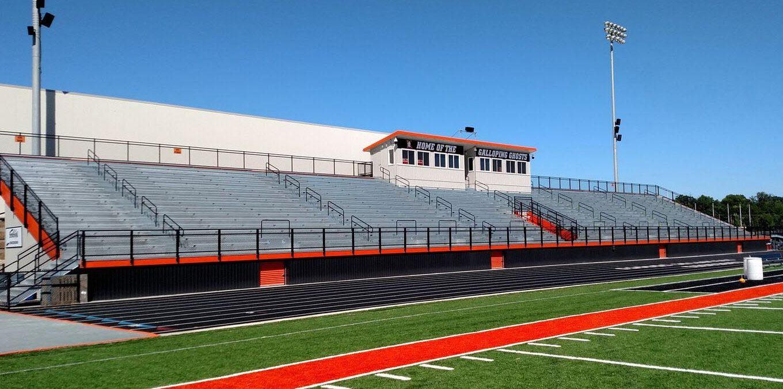 Outdoor Stadium Bleachers